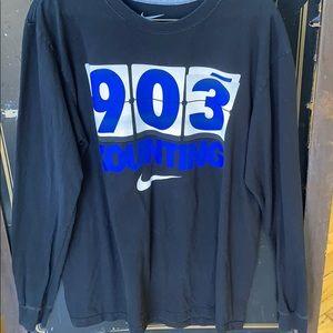 Duke long sleeve men's shirt size L